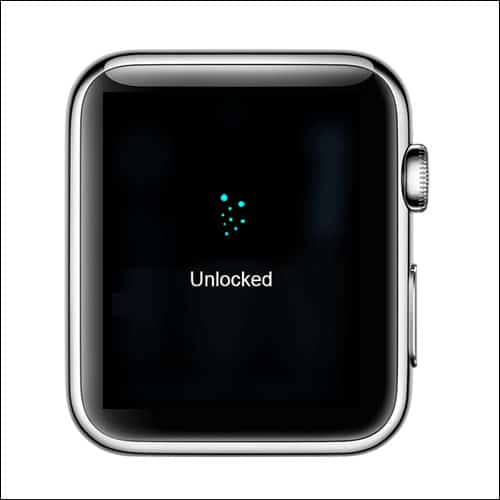 Apple Watch Unlocked and Water is Removed from Speakers