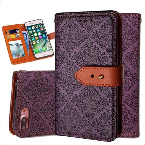 Auker iPhone 8 Plus Flip Case