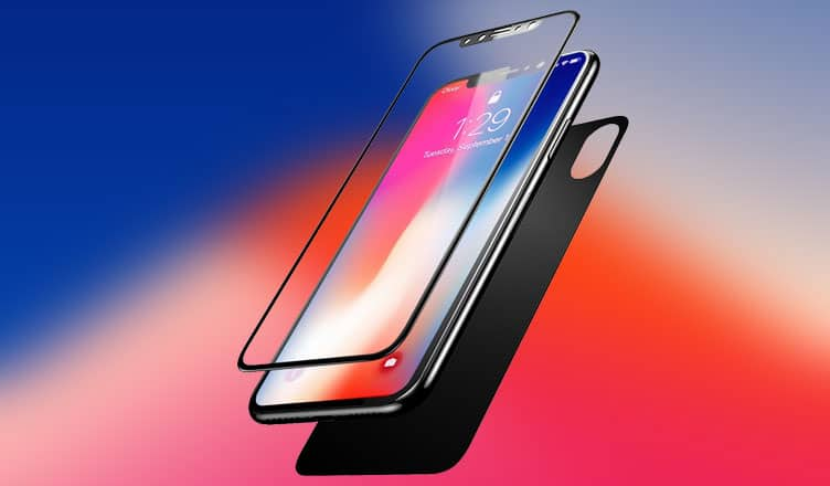 Best Front and Back Glass Screen Protectors for iPhone X