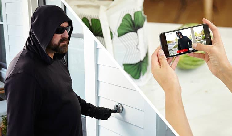Best Smart Door Bell Camera - WiFi Enabled Video Door Bell Camera for Home Security