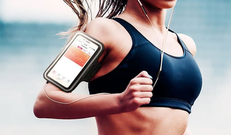 Best iPhone X Armbands - Workout Cases While Running and Jogging