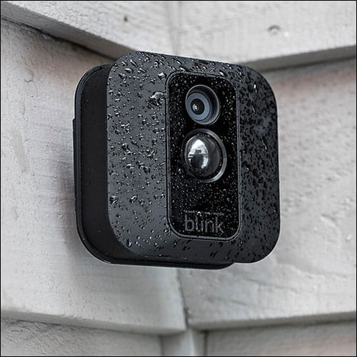 Blink Home Security Camera System for Smartphone with Motion Detection