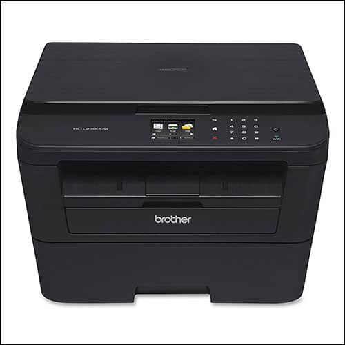 Brother HL-L2380DW Wireless Monochrome Laser Printer