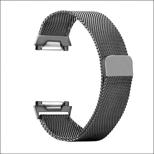 CUZOW Fitbit Ionic Stainless Steel Bands
