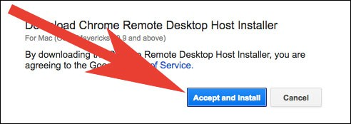Download Chrome Remote Desktop Installer on Mac and Windows PC