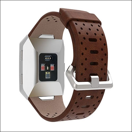 EloBeth Fitbit Ionic Leather Band