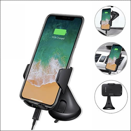Fstop Labs Wireless iPhone Car Charger Mount