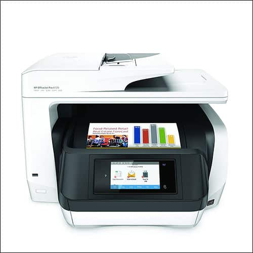 HP OfficeJet Pro 8720 All-in-One Wireless Printer with Mobile Printing