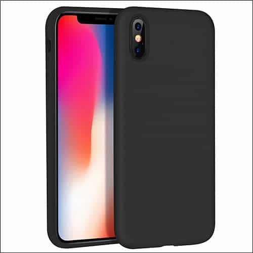 Hoco iPhone X Case Compatible with Wireless Charging Stand