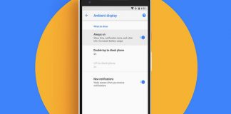 How to Enable or Disable Google Pixel 2 Always-On Display