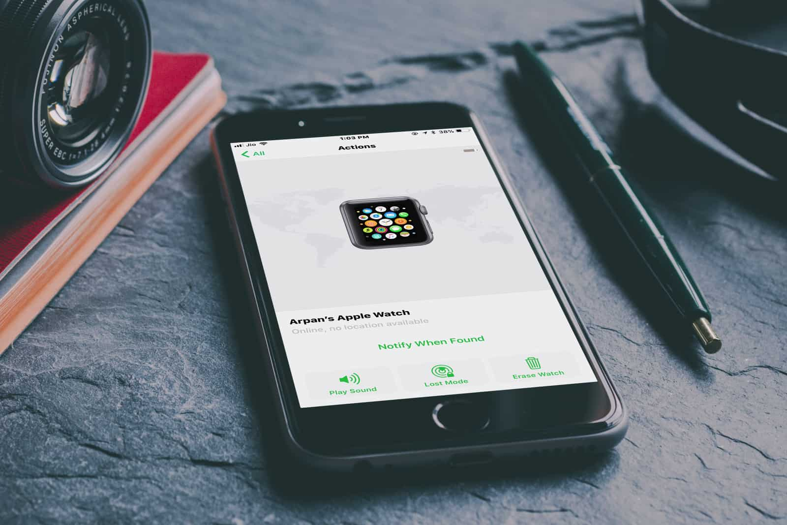 How to Find Lost Apple Watch Using Find My iPhone App