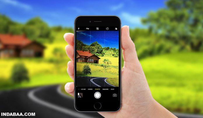 iphone 8 plus manual camera
