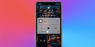 How to Remove Music Play Widget from Lock Screen in iOS 11 on iPhone and iPad
