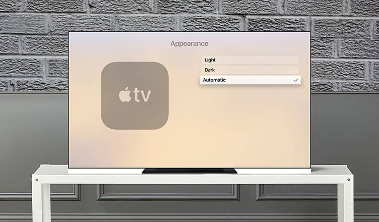 How to Set Apple TV to Automatically Switch Between Light and Dark Mode
