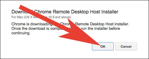 Install Chrome Remote Desktop Installer on Mac and PC