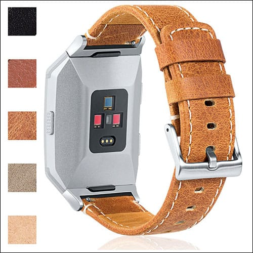 Maledan Fitbit Ionic Leather Band