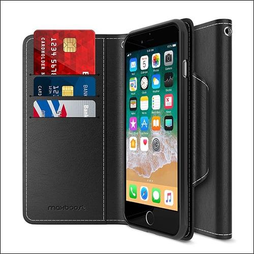 Maxboost iPhone 8 Plus Flip Case