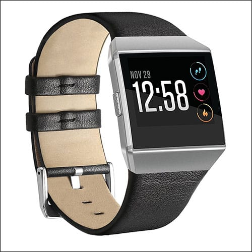 NaHai Fitbit Ionic Leather Band