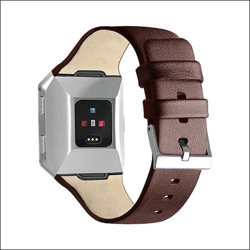 OneFoto Fitbit Ionic Leather Band