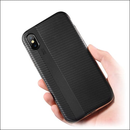 Onitron iPhone X Case Compatible with Wireless Chargers