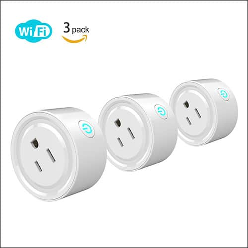 Potensic WIFI Enabled Smart Plug for Google Assistant