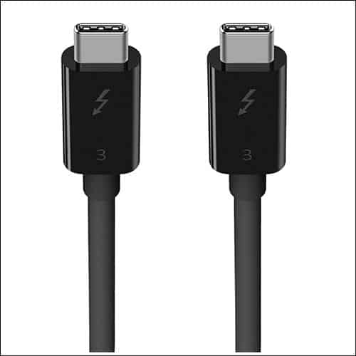 Belkin Thunderbolt 3 Cable for iMac Pro  - Belkin Thunderbolt 3 Cable for iMac Pro - Enjoy Faster Data Transfer and Quick Charge