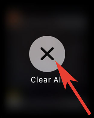 Clear All Apple Watch Notification Quickly