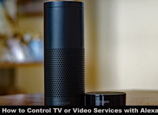 How to Control TV or Video Services with Alexa from Amazon Echo