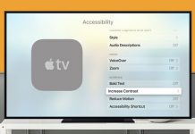 How to Enable High Contrast Cursor on Apple TV