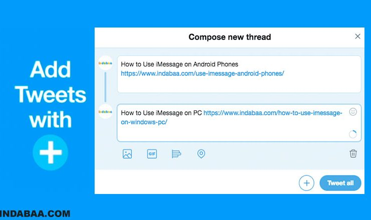 How to Link Multiple Tweets Together in Twitter