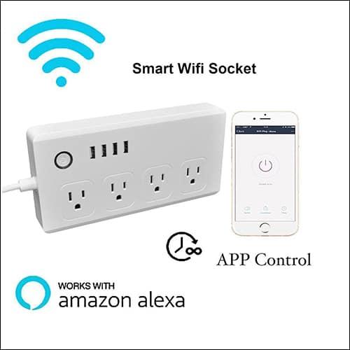 Mengyasi WiFi Smart Power Strip