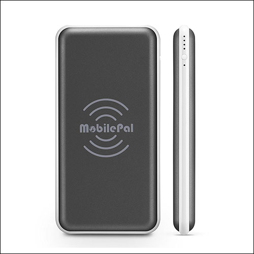 MobilePal Wireless Power Bank for Samsung Galaxy Note 8 and S8 or S8 Plus