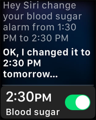 Edit or Change Alarm using Siri on Apple Watch