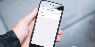How to Change Default Notes Account Location on iPhone or iPad in iOS 11