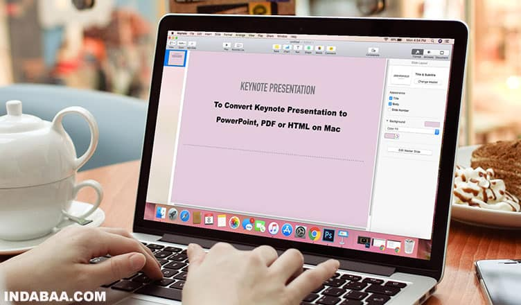How to Convert Keynote Presentations to PowerPoint, PDF or HTML on Mac