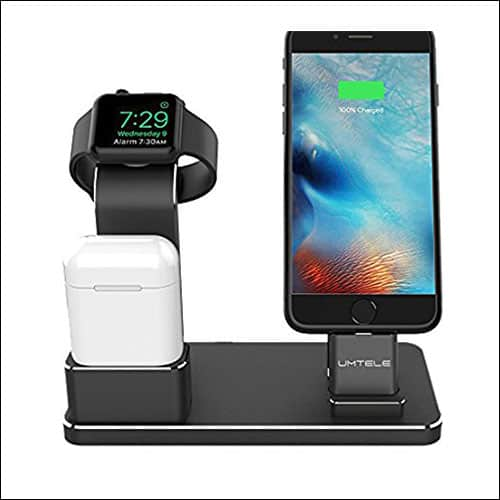 UMTELE Apple Watch, iPhone and. AirPods Charging Dock