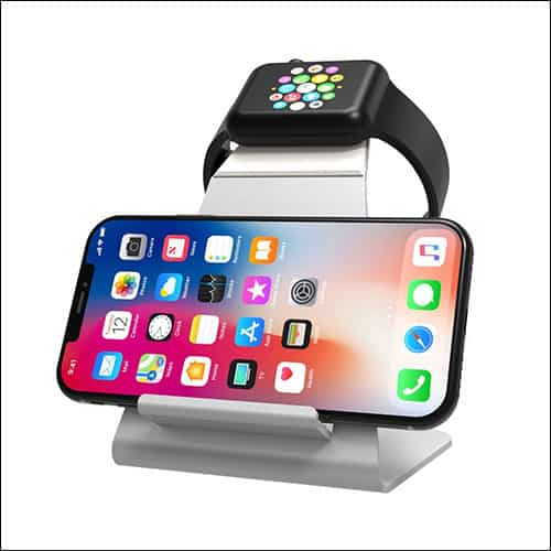 XUNMEJ Apple Watch and iPhone Charging Dock