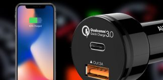 Best fast charging car charger for iPhone X and iPhone 8/8 Plus