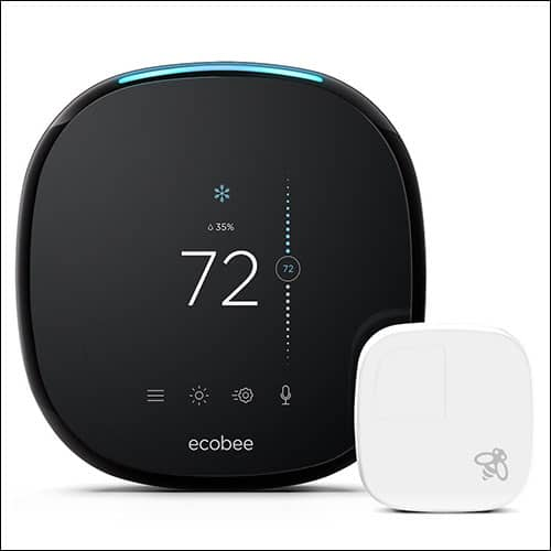 ecobee4 Thermostat Compatible with HomePod and Siri