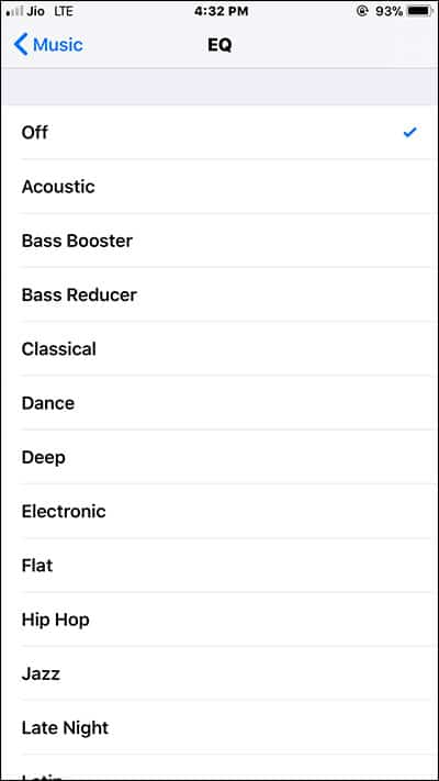 Adjust Audio levels on HomePod