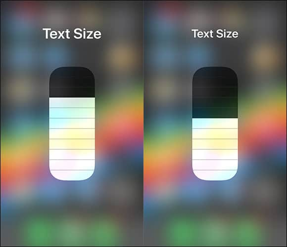 Change Font Size on iPhone and iPad