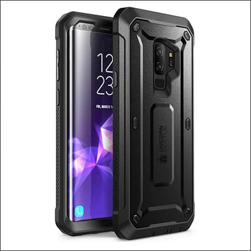 Galaxy S9 Case with Built-In Screen Protector from Supcase
