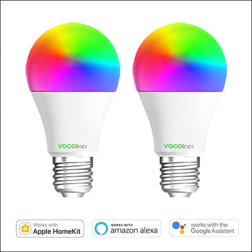 HomePod Controlled L1 Smart LED Light Bulb from VOCOlinc