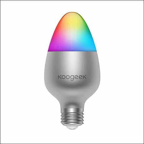 HomePod Enabled WiFi Smart LED Light Bulb from Koogeek