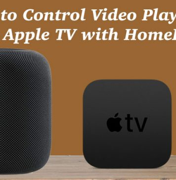 How to Control Video Playback on Apple TV with HomePod
