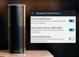 How to Enable Alexa Push Notification to Get Package Tracking Alerts