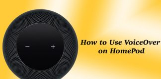 How to Enable and Use VoiceOver on HomePod
