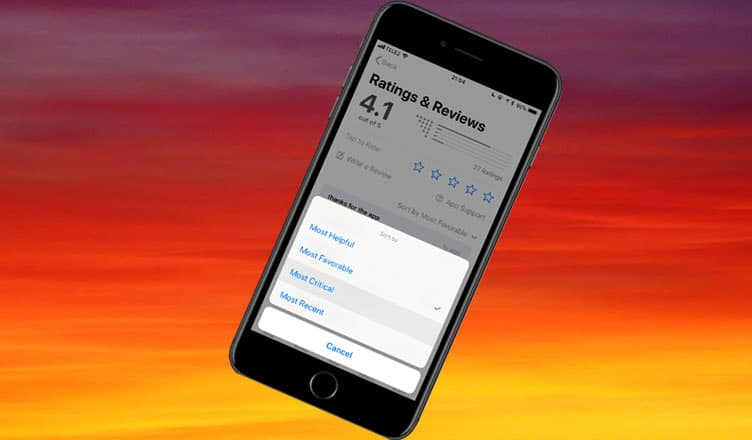 How to Filter App Store Reviews on iPhone and iPad