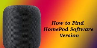 How to Find HomePod Software Version