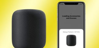 How to Fix HomePod Setup Failed Error 6722 Or Having Blank White Screen